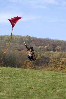 Free Fly A Kite Stock Images - 6951764
