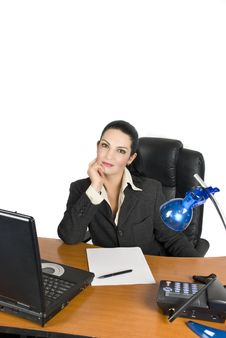 Free Confident Businesswoman Royalty Free Stock Image - 6959086