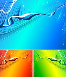 Free Holiday Abstract Vector Royalty Free Stock Images - 6968699