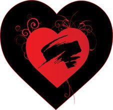 Free Grunge Heart Stock Photos - 6978273