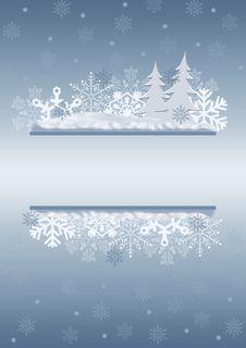 Free Celebratory Christmas Border. Stock Photography - 6978472