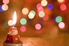 Free Santa Candle Light Stock Photos - 6983123