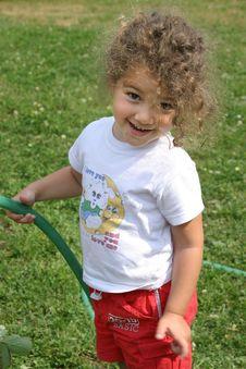 Free Watering Is Fun! Stock Image - 70291