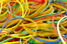 Free Rubberbands 2 Royalty Free Stock Photography - 71877