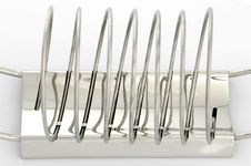 Toast Rack 1 Royalty Free Stock Images