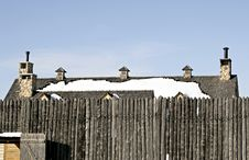 Free Fort And Roof Stock Photography - 72452