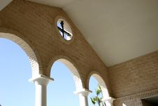 Free Cross And Arches Stock Photography - 73152