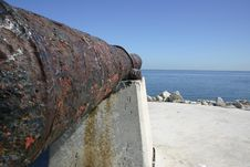 Free Cannon View Royalty Free Stock Photo - 74115