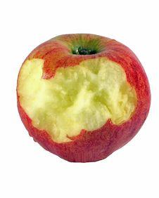 Free Chewed Apple Stock Image - 74431