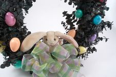 Free Easter Wreath Stock Image - 76641