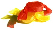 Free Bright Yellow And Red Candy Stock Photo - 76810