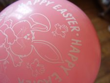 Free Easter Balloon Royalty Free Stock Photography - 77057