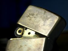 Free Zippo Lighter I Royalty Free Stock Photography - 79937