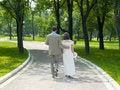 Free Walking Couple Royalty Free Stock Images - 702579