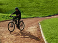 Free Cyclist Royalty Free Stock Photography - 704877