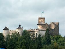 Free Niedzica Castle Royalty Free Stock Images - 700179