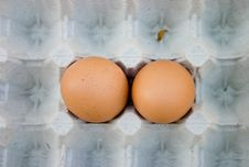 Free Brown Eggs Royalty Free Stock Image - 700376