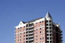 Free Urban Apartment Building Royalty Free Stock Photo - 700645