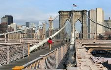 Free Brooklyn Bridge Royalty Free Stock Image - 700726