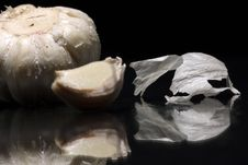 Free Garlic With Reflex Stock Photography - 702022