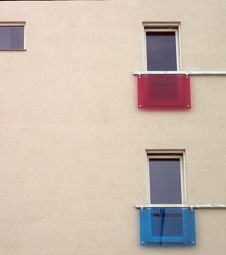 Free Colorful Balcony Stock Photography - 702332