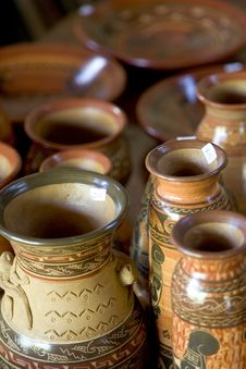 Free Pottery Sale Stock Photo - 704310