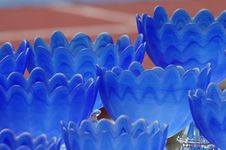 Free A Coloured Series Of Cups Stock Photos - 704503