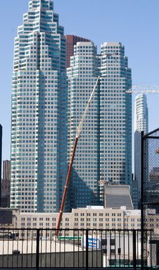 Free Toronto Construction Royalty Free Stock Images - 704979