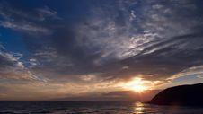 Free Big Sky Sunset Stock Photography - 705052