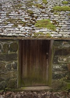 Old Door Stock Image