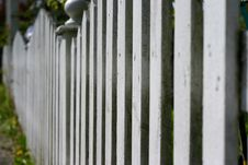 Free Abstract Picket Fence Royalty Free Stock Photo - 708425
