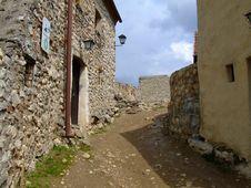 Free Rasnov Fortress Stock Image - 709621