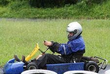 Free Karting In The Rain 4 Stock Photography - 709702