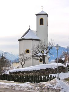 Free Church In The Mountains 3 Royalty Free Stock Image - 709916