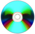 Free Compact Disk Isolated On White Royalty Free Stock Photography - 7009587