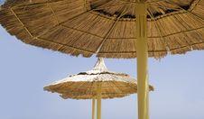 Free Beach Parasols Royalty Free Stock Photo - 7005625