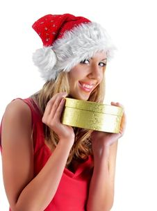 Free Santa Girl Stock Images - 7005744