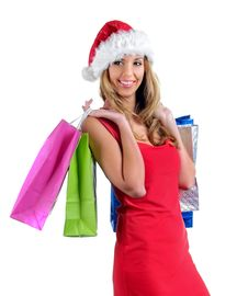 Free Santa Girl Stock Photo - 7005770