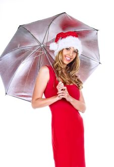 Free Santa Girl Royalty Free Stock Photography - 7005847