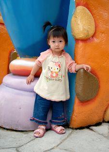 Free Chinese Child Royalty Free Stock Image - 7006126