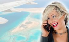 Free Business Woman  Calling Stock Photos - 7006563