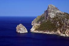 Free Mountain In A Sea Stock Photo - 7006630