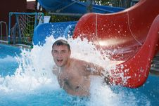 Free The Guy In Pool Stock Images - 7006664