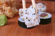 Free Appetizer Sushi Royalty Free Stock Photos - 7006678