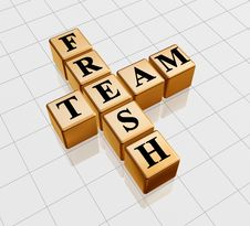 Free Golden Fresh Team Stock Images - 7006834