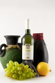 Free Wine Composition Stock Image - 7006901