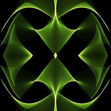 Free Green Kaleidoscopic Background Stock Images - 7006924