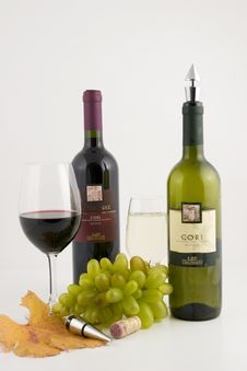 Free Wine Composition Royalty Free Stock Image - 7007126