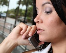 Free Woman On A Phone Stock Photos - 7007743