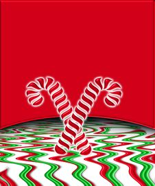 Free Candy Cane Background 5 Stock Photos - 7008603